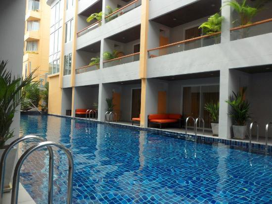 Unico Grand Sandara Hotel: วิวริมระเบียงห้องพัก