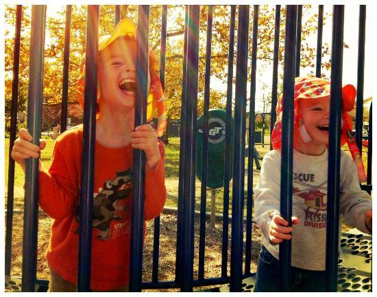 Milton Memorial Park: great huge playground!