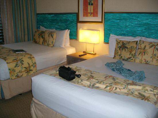 Aqua Palms Waikiki : Very comfortable beds