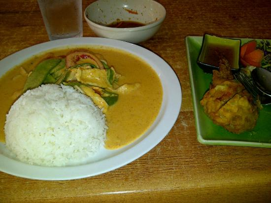 Thai Silk Restaurant: Angel Wings and Panang Curry