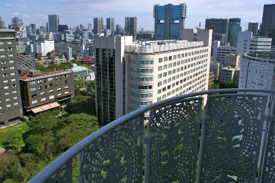 Grand Prince Hotel New Takanawa: View from our balcony