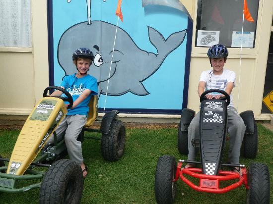 Victor Harbor Holiday and Cabin Park: Pedal Go-Karts