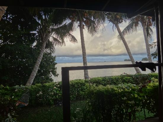 Coconut Grove Beachfront Cottages: From Banana bure 