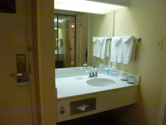 DoubleTree by Hilton Hotel Boston - Andover: Sink