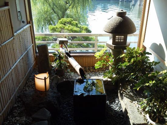 Ohashikan: 2階レストラン