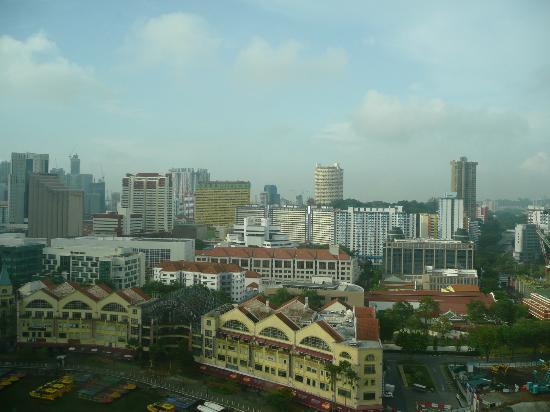 Novotel Singapore Clarke Quay: View from 19th floor room 