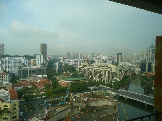 Novotel Singapore Clarke Quay: View from 19th floor room