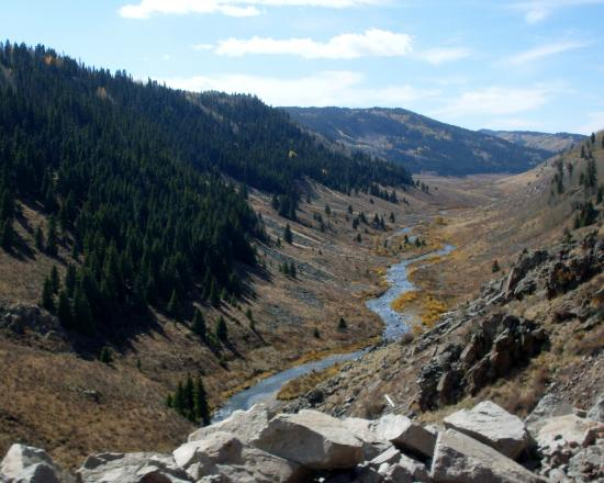 Valley At Higher Elevation Picture Of Cumbres Toltec Scenic - Higher elevation