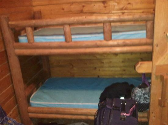 Moab KOA Campground: other side of the bunk bed room