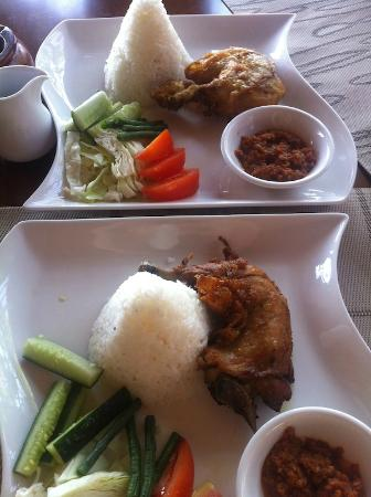 Aston Sunset Beach Resort: One of the authentic local food from the hotel menu