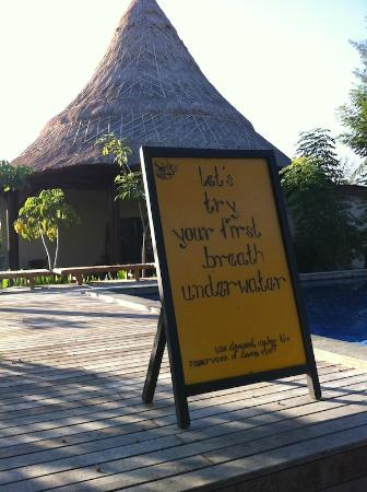 Aston Sunset Beach Resort: Pool for Dive Learning