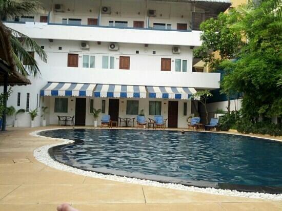 Billabong Hostel: zwembad, helemaal goed.