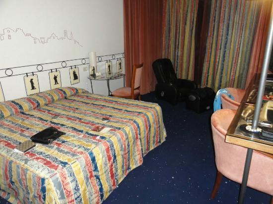 Hotel Gio' Wine e Jazz Area: Visuale camera2 