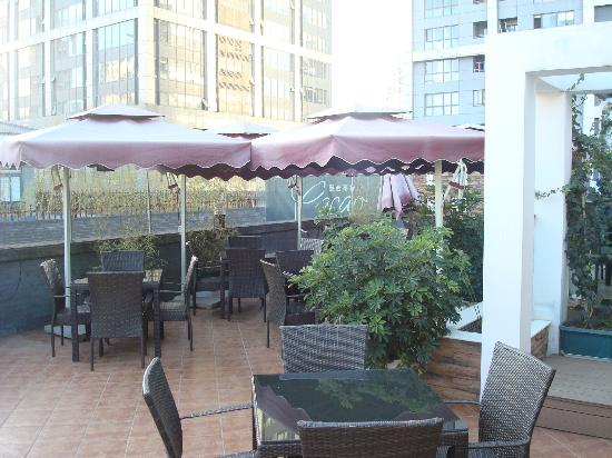 Mexican Restaurant (Main Branch) : nice patio on the 4th floor
