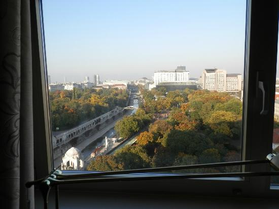 InterContinental Wien: View from our room