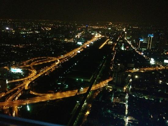 Night View Picture Of Baiyoke Sky Tower Bangkok
