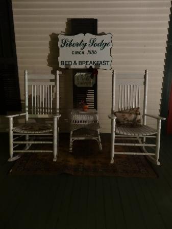 Liberty Lodge: Porch