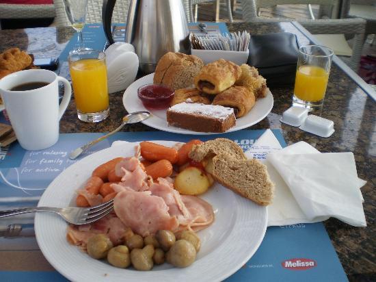 Louis Corcyra Beach Hotel: τελειο το πρωινο του