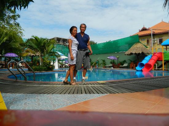 The Kingdom Resort & Spa: My husband & me