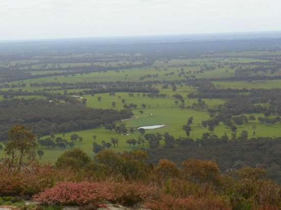 Chiltern, Avustralya: View from Mt Pilot