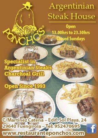 Poncho's: poncho´s  steak-house