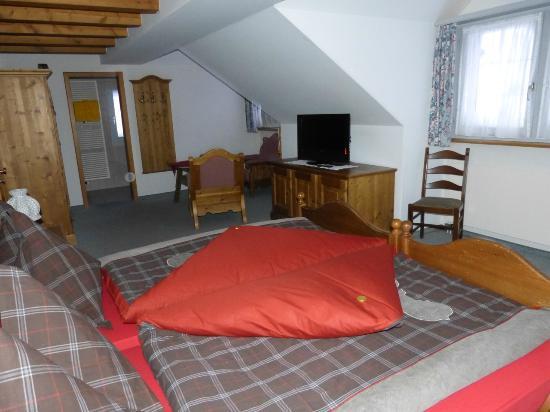 Hotel Restaurant Roessli: Doppelzimmer mit TV