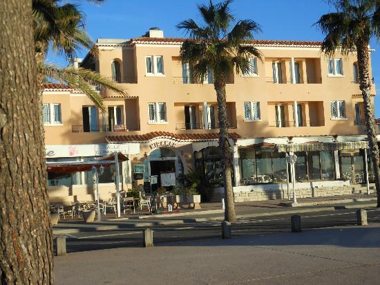 Le Miramar Hotel: facciata hotel