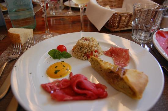 Osteria Le Servite: antipasto
