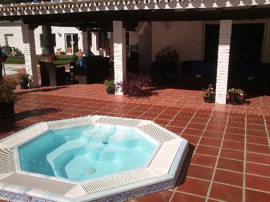 Malaga Hotel Picasso: porche