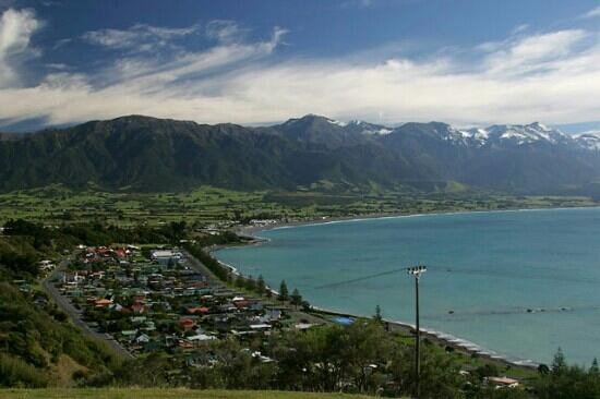 Dusky Lodge & Backpackers: Beautiful Kaikoura