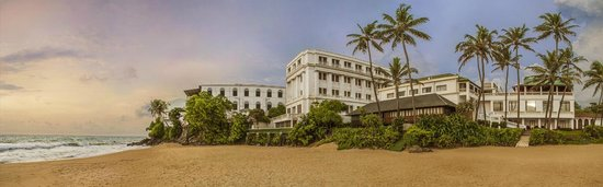 Mount Lavinia Hotel : Panoramic view of MLH