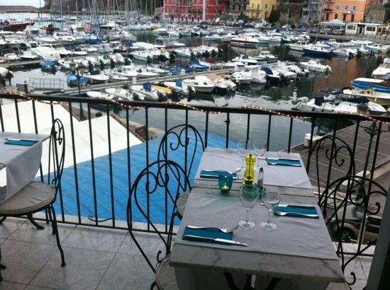 Lavezzi: terrasse
