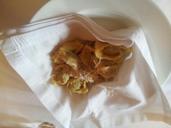Osteria Veglio : Ravioli al Plin