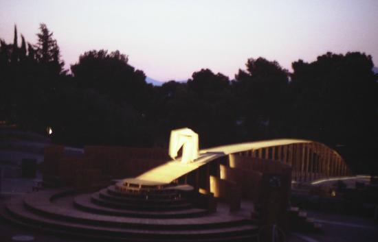 Epidaurus Theater: ..Inizia lo spettacolo