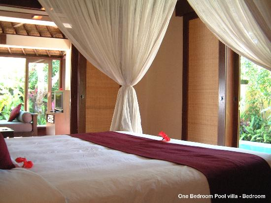 The Pavilions Bali: Bedroom of One Bedroom Pool villa