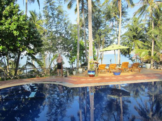 Cassia Cottage: Family pool area