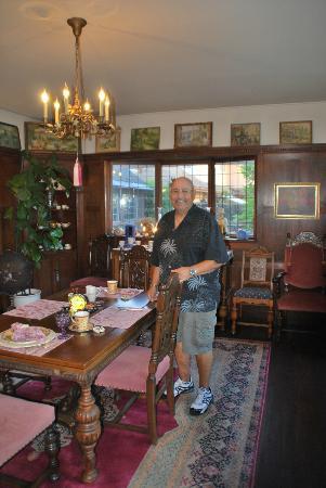 Coxhead House: intim lille spisestue