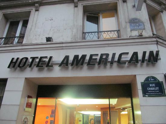 Hotel Americain: The hotel