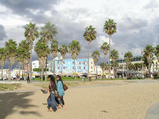 Samesun Venice Beach: Vista dalla spiaggia