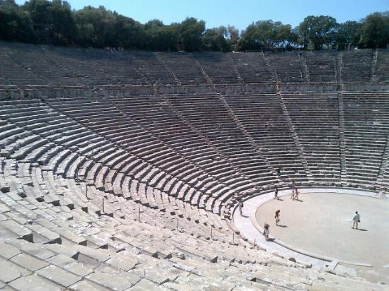 Epidaurus Theater: Amphitheatre at Epidaurus