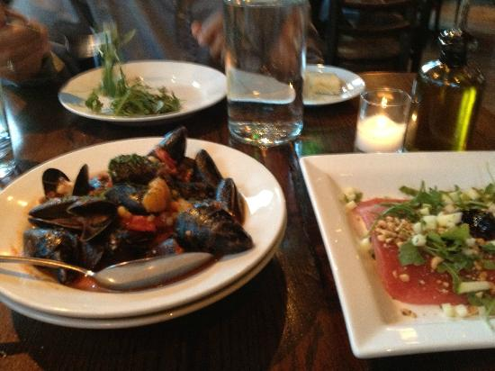 Il Villaggio Osteria : Mussels and starters