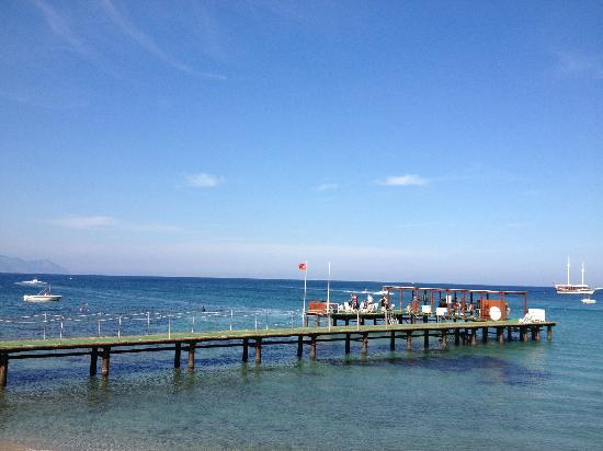 Club Med Kemer: пантон для водных лыж