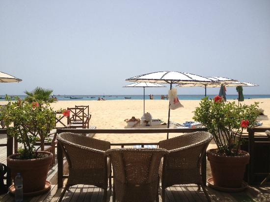 Hotel Morabeza: view from the Beach Club
