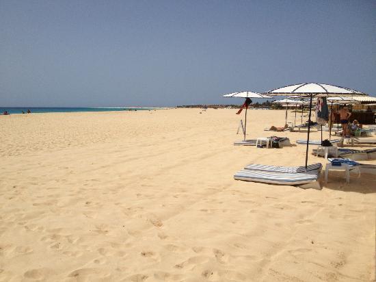 Hotel Morabeza : Rush hour at the beach