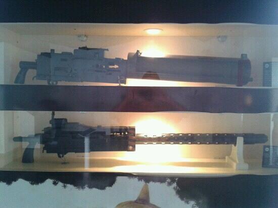 Military Museum: Metralhadoras