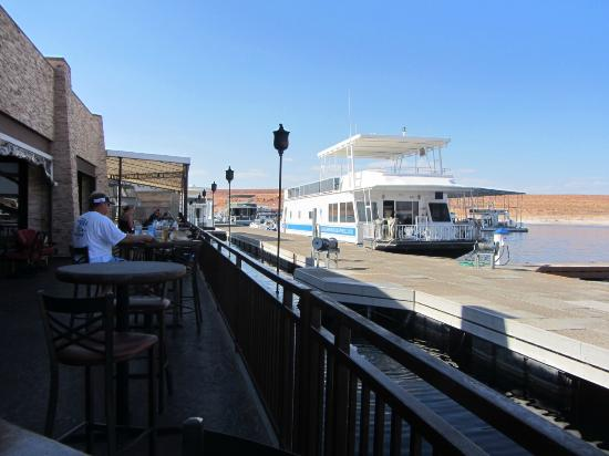 The Point Restaurant: Aussicht