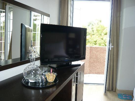Hotel Taburiente: Mein Zimmer mit Balkon
