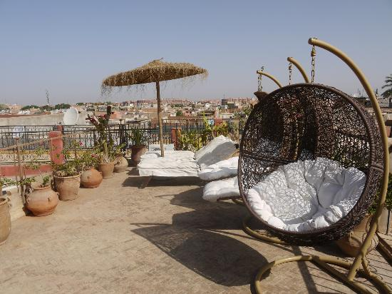Riad Mur Akush: Terrasse