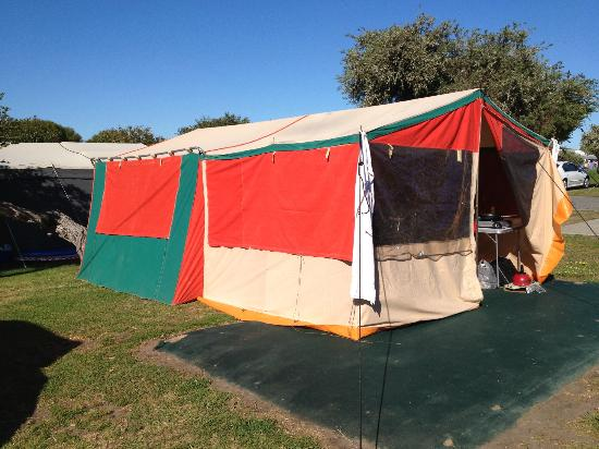 Discovery Parks - Adelaide Beachfront: Our tent site