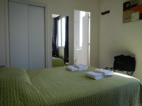 Hôtel Le Bretagne : la stanza